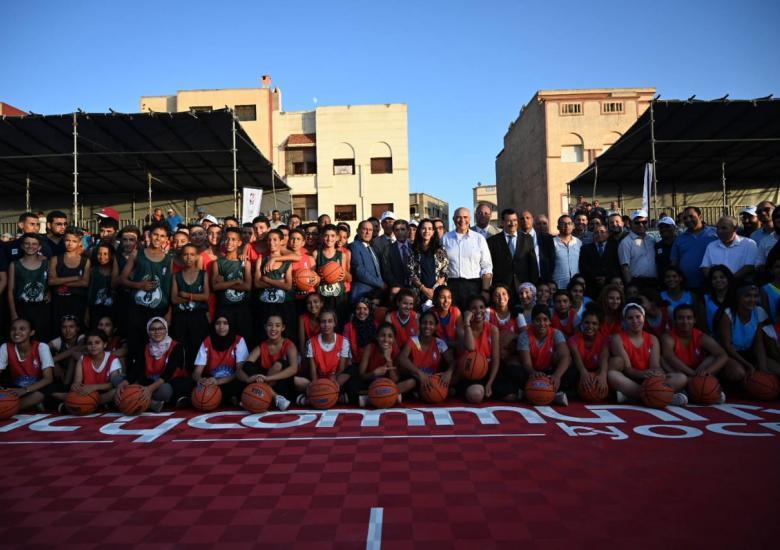 Junior league NBA Morocco Rwanda