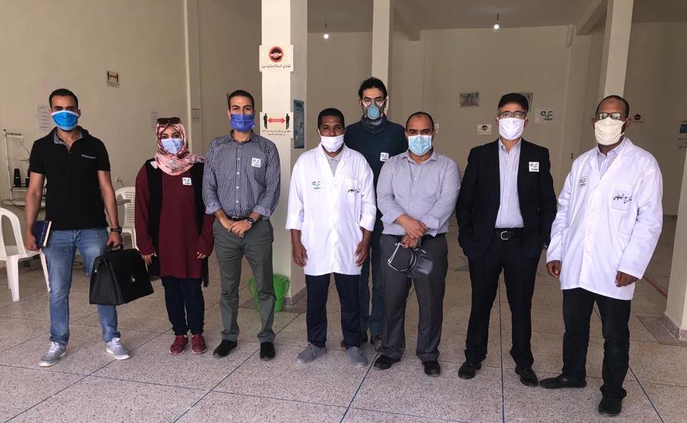 Mask production Laayoune