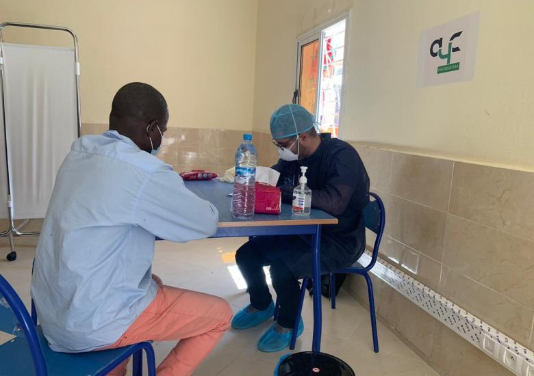 Medical assistance sub Saharan