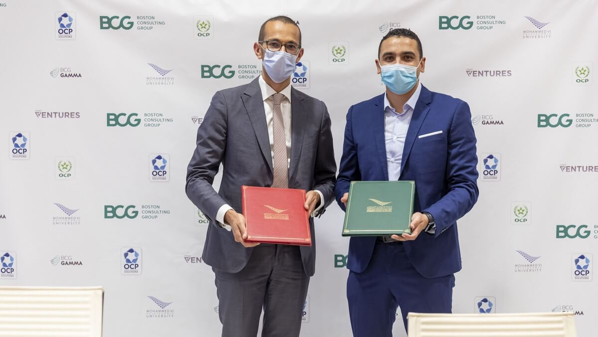 OCP GROUP AND BOSTON CONSULTING GROUP (BCG) TEAM UP  TO PROVIDE A UNIQUE OFFER IN THE FIELD OF MAINTENANCE  AND INDUSTRIAL DIGITIZATION